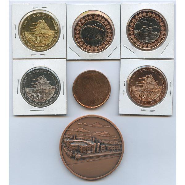 Royal Canadian Mint medallions
