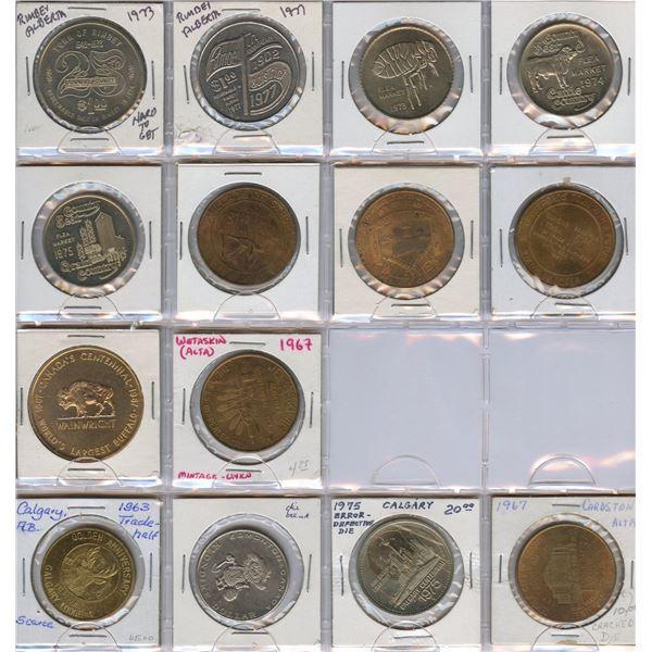 Alberta Trade Dollars - Lot of 109