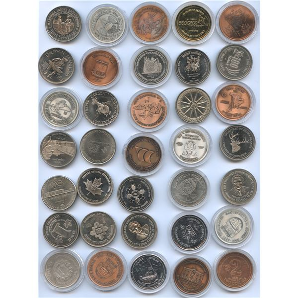 Trade Dollars from Canada - Lot of 65