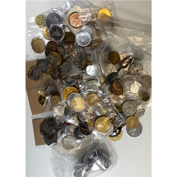 Treasure Chest, Coins, Tokens, Trade Dollars & More