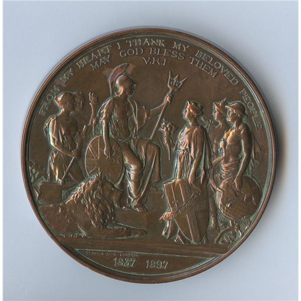 Large Queen Victoria Jubilee medal