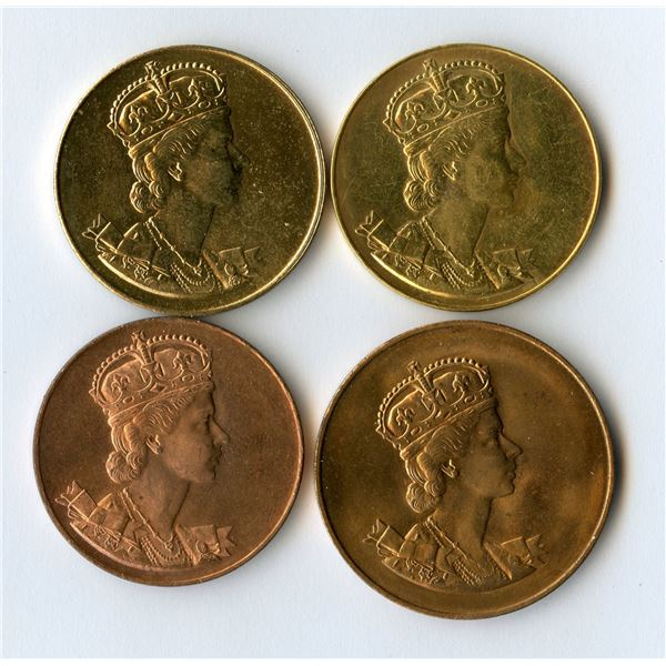 Queen Elizabeth II Coronation1953medals.
