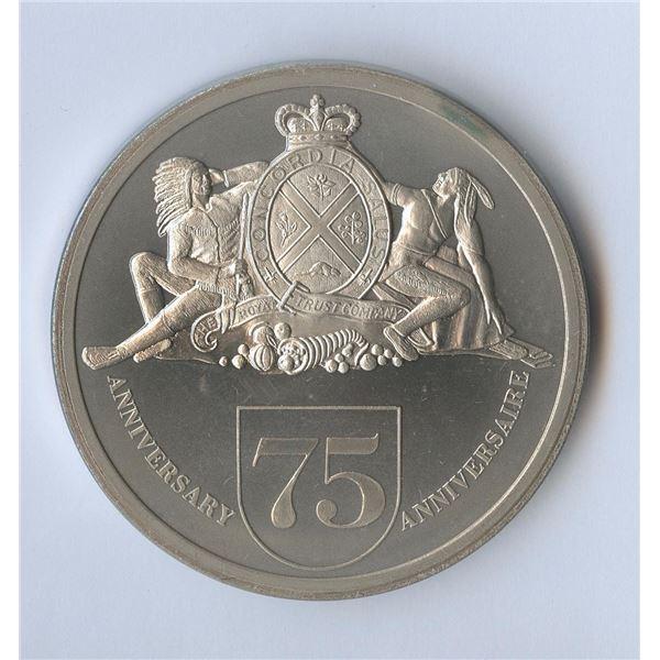 Royal Trust 75th Anniversary Medal