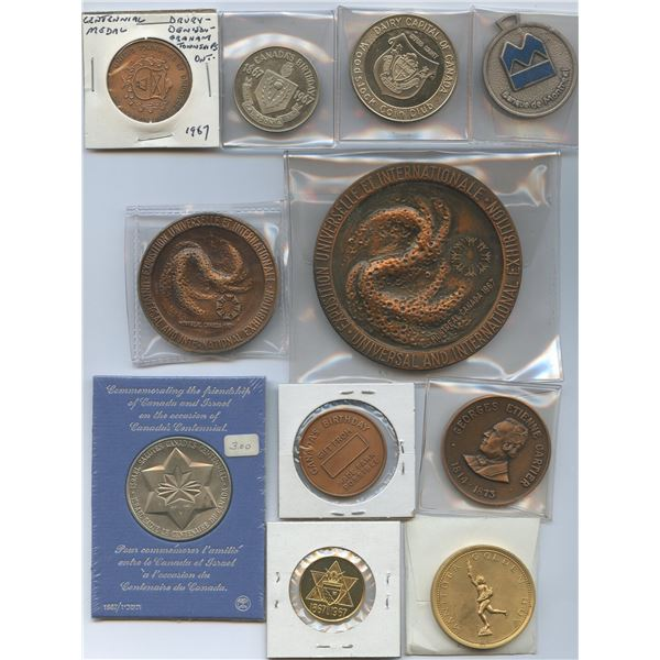 Canada Expo and Related, 1967 Medals - Lot of 65 - Part 2