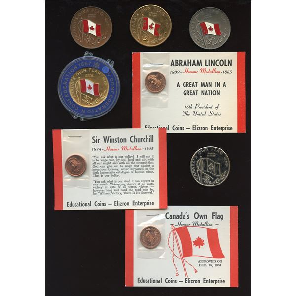 Canada's Own Flag medallions