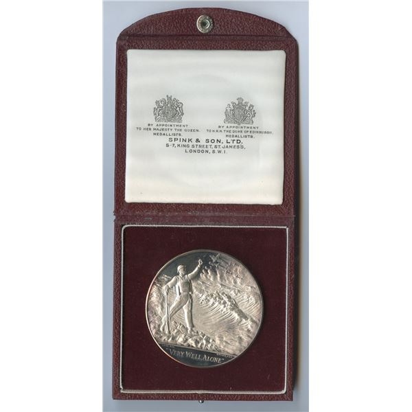 1965 Winston Churchill UK Sterling Silver Medal