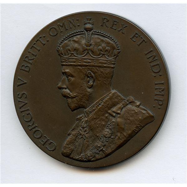 "Great Britain: George V bronze matte ""British Empire Exhibition"" Medal, 1925"