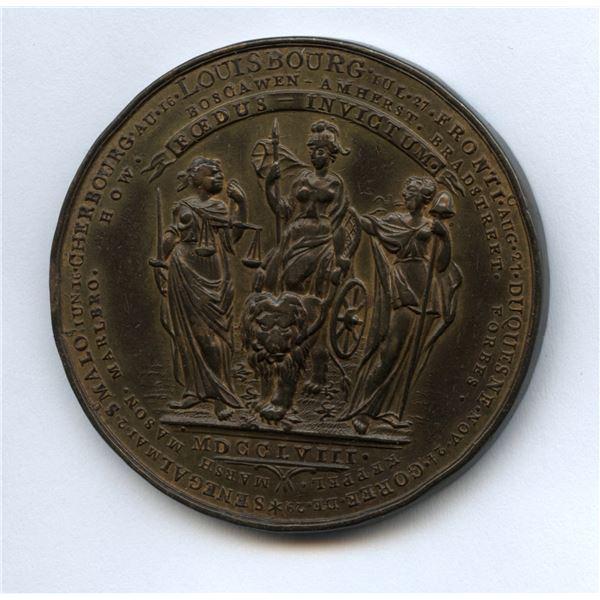 British Victories of 1758-1759 Medal.