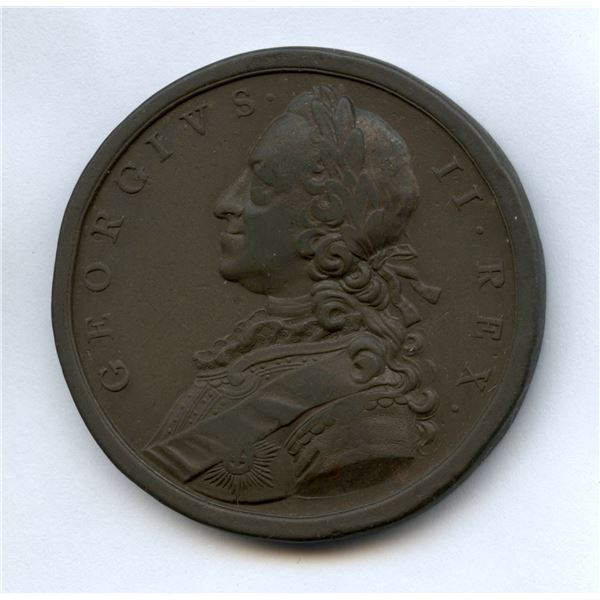 British Victories of 1759 Medal.