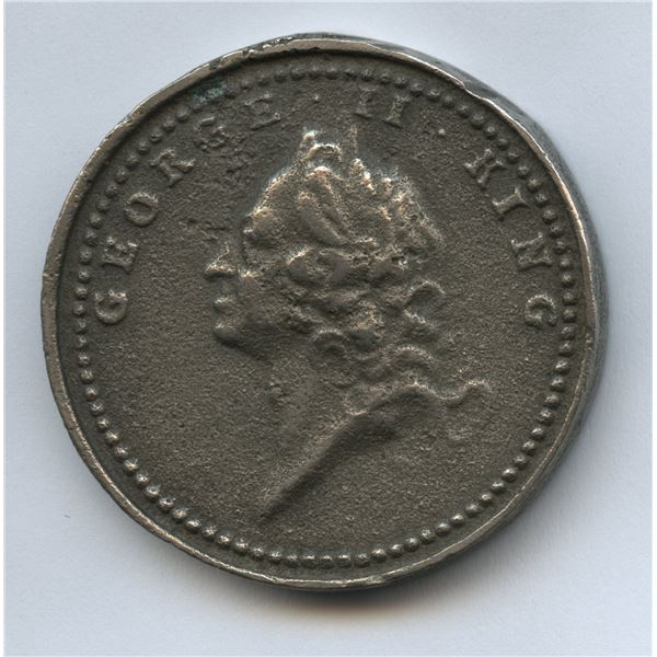 Canada Subdued 1760 Medal.