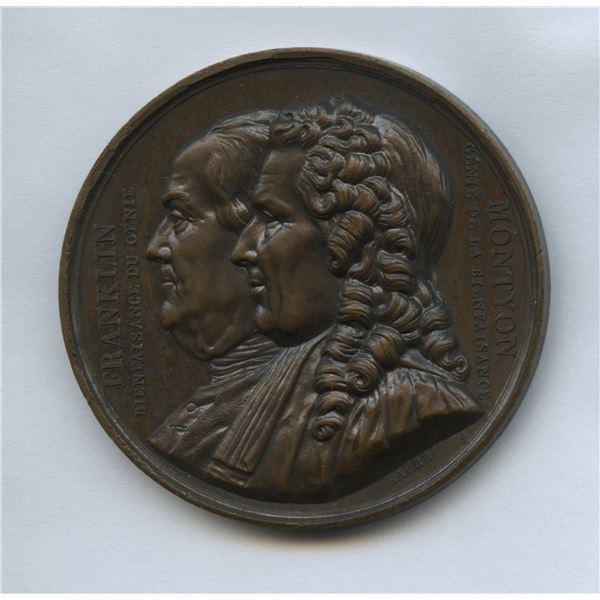 1833 Société Montyon et Franklin Medal.