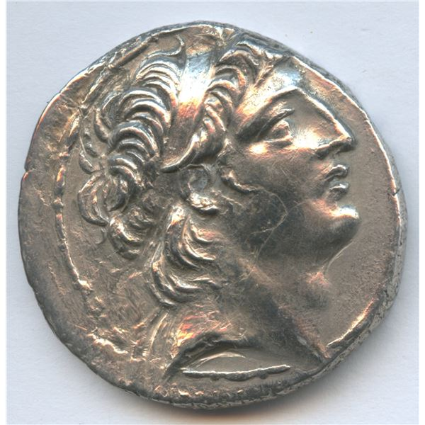 SELEUKID KINGS of SYRIA, Antiochos VIII Epiphanes (Grypos). 121/0-97/6 BC, AR Tetradrachm