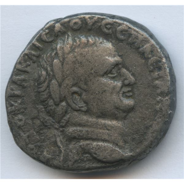 SYRIA, Seleucis and Pieria (Antioch). Vespasian. AD 69-79. AR Tetradrachm
