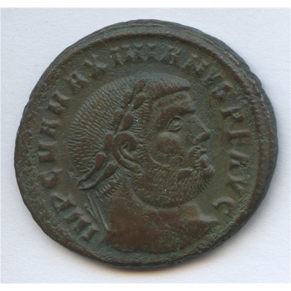 Roman Imperial - Maximian. 285-305 AD, First Reign. AE Follis