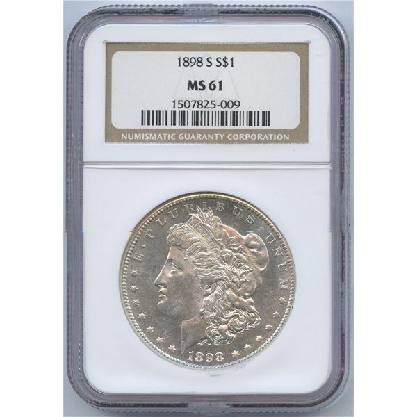 USA - 1898-S Morgan Dollar