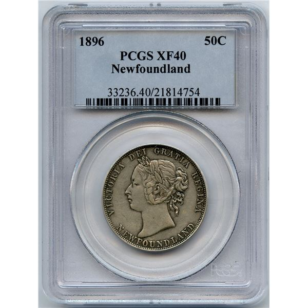 1896 Newfoundland Fifty Cents