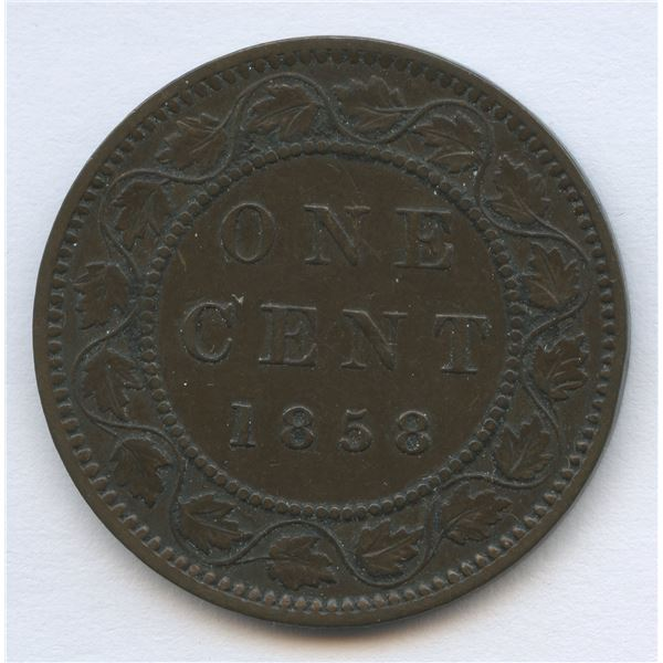 1858 One Cent - Key Date