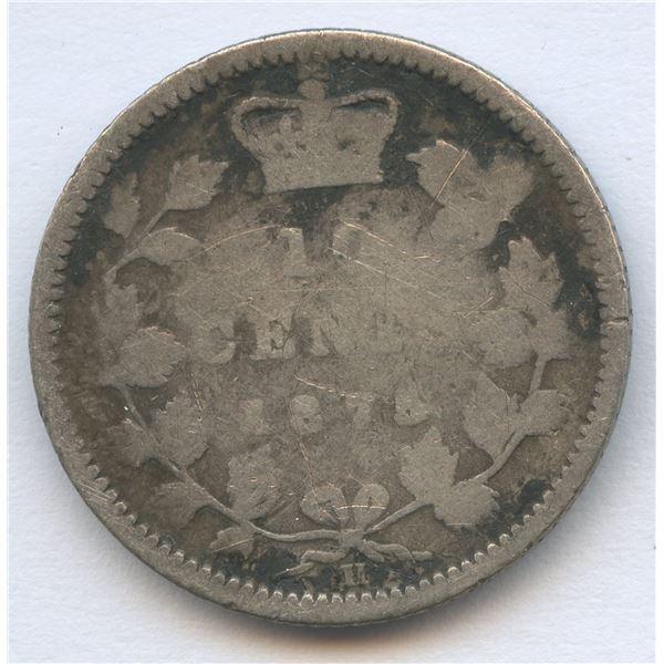 1875H Ten Cents - Key Date