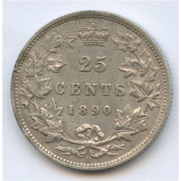 1890H Twenty-Five Cents