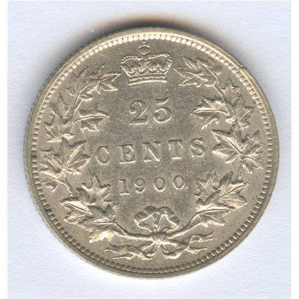1900 Twenty-Five Cents
