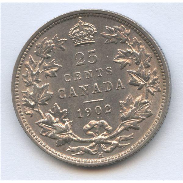 1902H Twenty-Five Cents