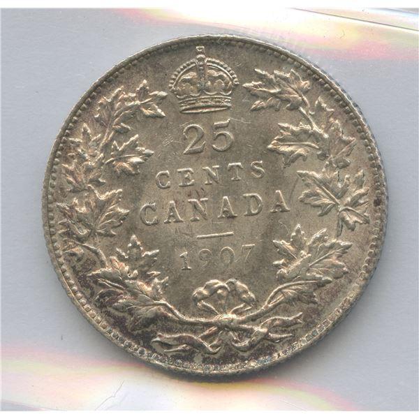 1907 Twenty-Five Cents