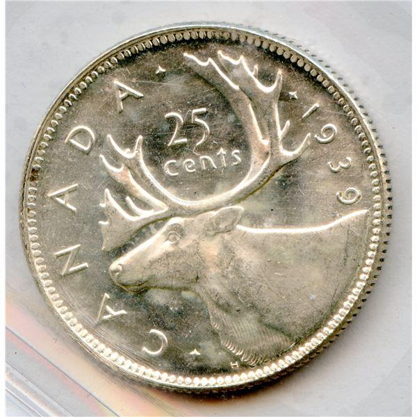 1939 Twenty-Five Cents