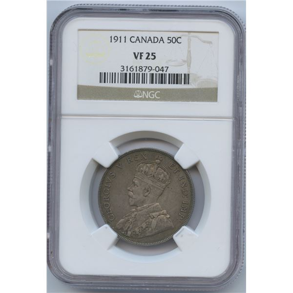 1911 Fifty Cents