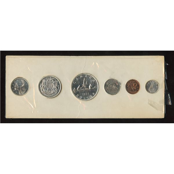 H. Don Allen Collection - 1957 Proof Like Set