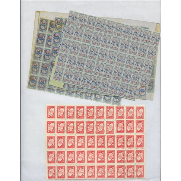 H. Don Allen Collection - Various Merchant Trading Stamps