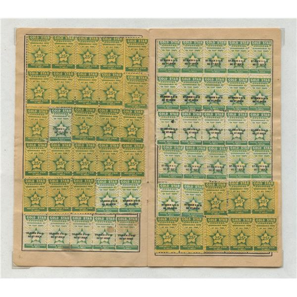 H. Don Allen Collection - Merchant Trading Stamps Collection