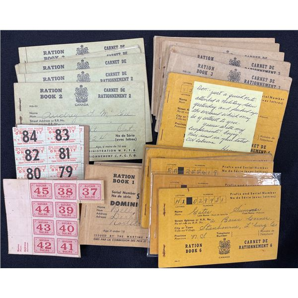 H. Don Allen Collection - Canadian Ration Material
