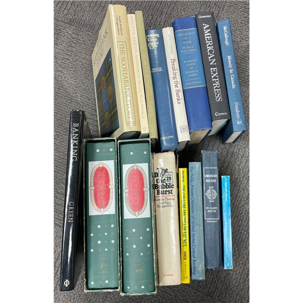 H. Don Allen Collection - History of Banking Book Lot