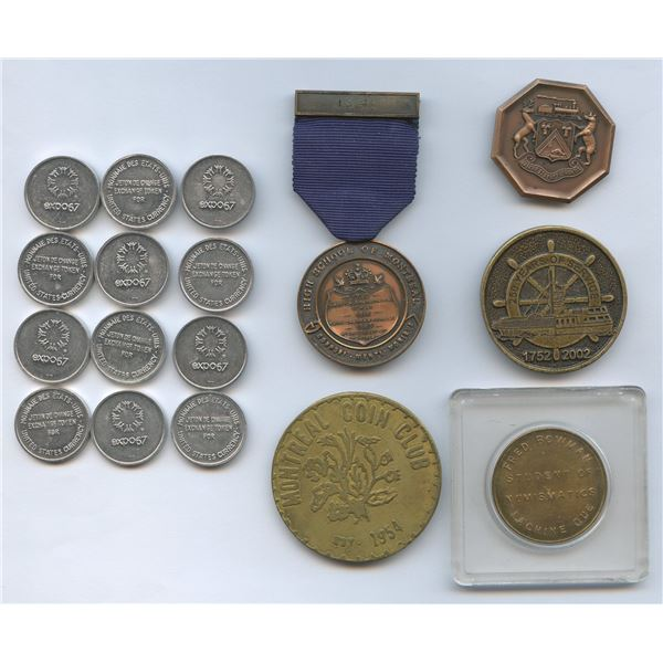 H. Don Allen Collection - Various Canadian Medals & Tokens