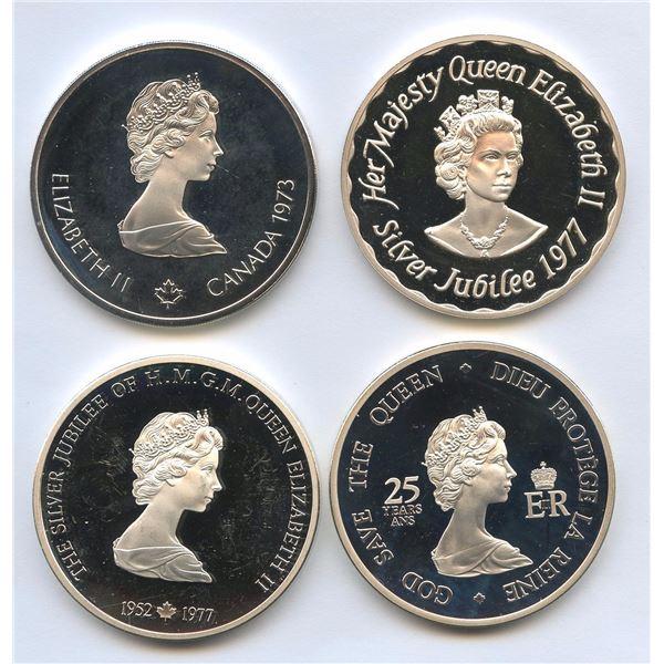 Queen Elizabeth II silver medals, Canada