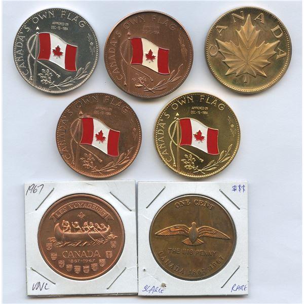 Canadian Medal/Medallion lot, 1967