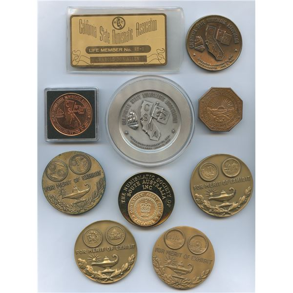 H. Don Allen Collection - United States CSNA Personal Medals