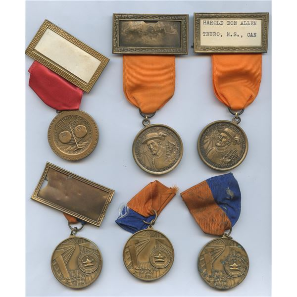 H. Don Allen Collection - United States ANA Convention Badges