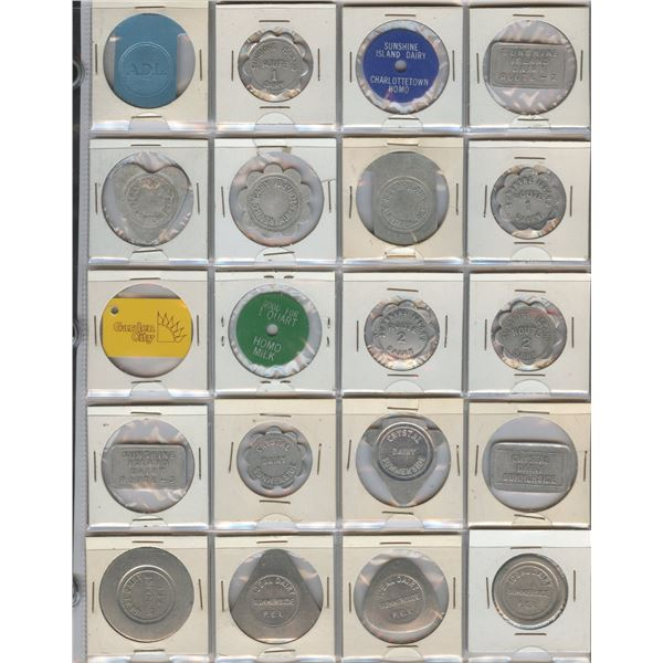H. Don Allen Collection - Prince Edward Island Dairy Tokens