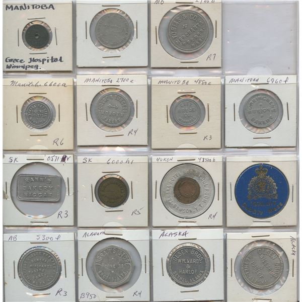 H. Don Allen Collection - Canadian Tokens