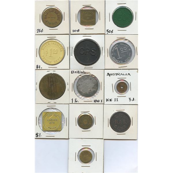 H. Don Allen Collection - United States, Canada & World Token Collection