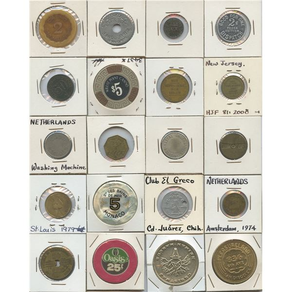 H. Don Allen Collection - Foreign Tokens