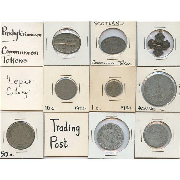 H. Don Allen Collection - Foreign Token Lot