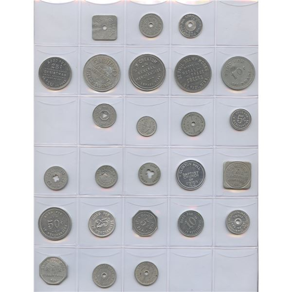 H. Don Allen Collection - United States and Foreign Token Collection
