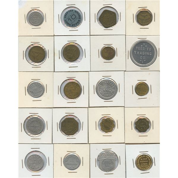 H. Don Allen Collection - United States Tokens