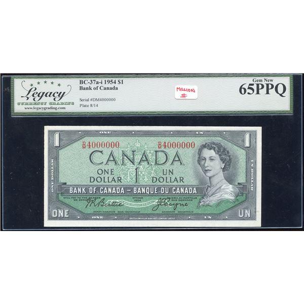 MILLION # - Bank of Canda $1, 1954