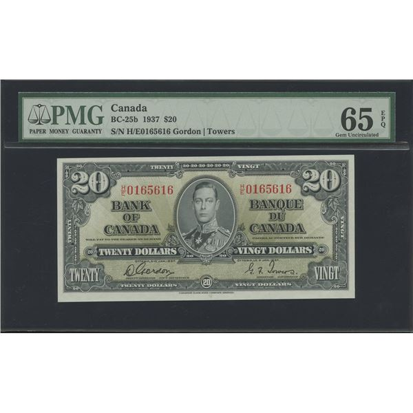 Bank of Canada $20, 1937 - Victoria's Collection