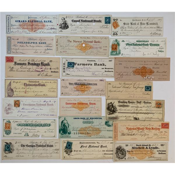 H. Don Allen Collection - Collection of American Cheques