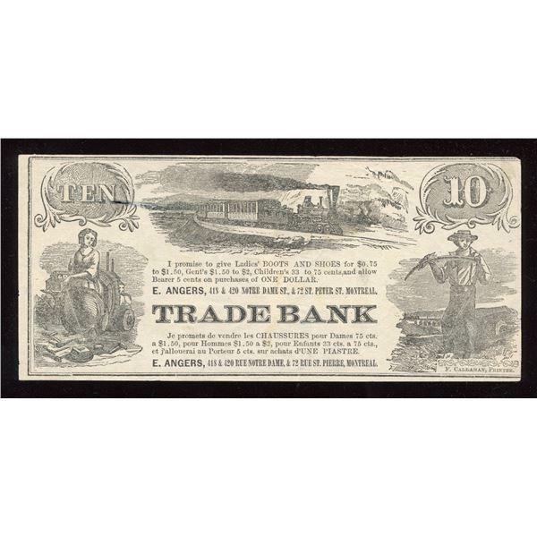 E. Angers Trade Bank Scrip