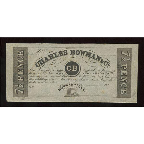 Charles Bowman & Co. - Remainder